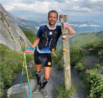 INTERVIEW : Erik Clavery bat le record du GR10
